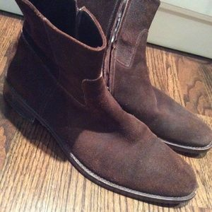 TO BOOT NEW YORK SUEDE BOOTS